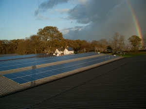 Commercial Solar PV Systems fitted too.