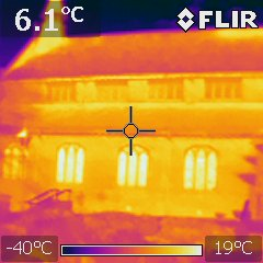 Thermal image of Christchurch